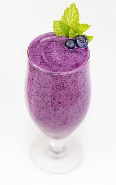blueberry smoothie - Google Search