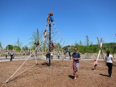 Tons of New Play Structures for Kids on Governors Island