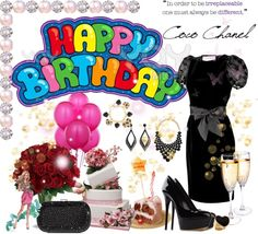 """""""Happy Birthday to me :D"""" by scorpioncina86 ❤ liked on Polyvore"""