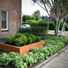 Tuinmeesters©-tuinrenovatie Wouwse Plantage-plantenbak CorTenstaal