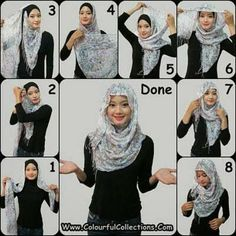 How To Wear A Hijab Fashionably [12 Tricks] #muslim #hijab