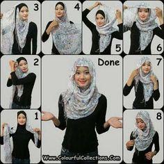 How To Wear A Hijab Fashionably [12 Tricks] #muslim #hijab