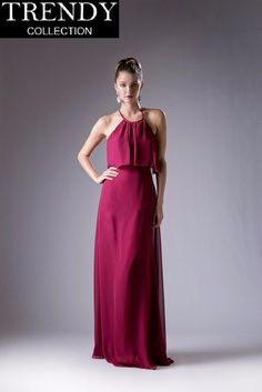 841399f1cb9 Cinderella Divine 13031 Long Open Back Bridesmaid Dress