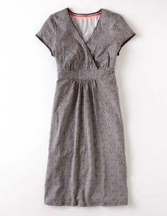 I've spotted this @BodenClothing Casual Jersey Dress Pewter Pretty Spot