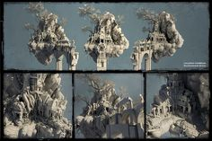 temple concept art - Google Search