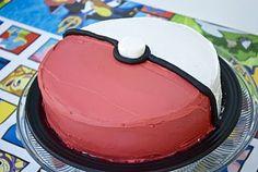 Pokemon birthday party ideas - I think I could actually handle this cake myself. #birthdaycakes