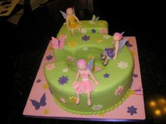 Fairies, Flowers and Butterflies! What a Delightful 5th Birthday Cake!