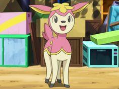 Deerling is just too cute.
