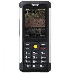CAT B100  - Negro: Aunque vivimos inmersos en la era de los smartphones todavía son unos cuantos, sobre todo con empleos que implican ciertos riesgos para sus teléfonos, los que buscan teléfonos básicos que simplemente les sirvan para estar comunicados pero que sean resistentes a caídas, golpes o chapuzones involuntarios.  El Cat B100 cuenta con una pantalla pantalla TFT de 2.2 pulgadas con 240×320 píxeles, procesador MediaTek 6276W, 64 o 128 MB de memoria interna ampliable mediante ...