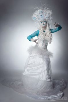 Ice Princess   Ice Queen Costume | Sacred Circus-Jugglers, roaming circus performers, costumed ...