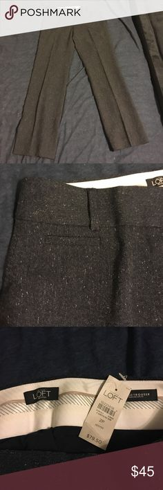 Dress pants - Petites Dress pants. They are more of a grey color. Never worn! Tags on them! Please note, they are petites!! Ann Taylor Pants Boot Cut & Flare