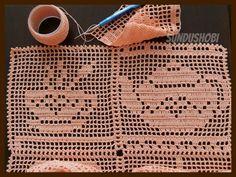 Crochet Doily Diagram, Filet Crochet Charts, Granny Square Crochet Pattern, Crochet Squares, Crochet Granny, Crochet Motif, Diy Crochet, Crochet Doilies, Crochet Patterns