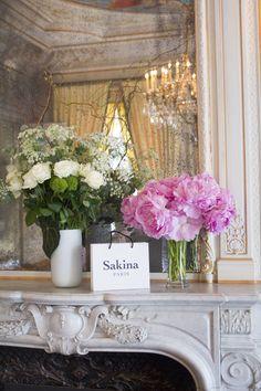Presentation Haute Couture Collection of Sakina Paris at Paris Fashion Week S/S 17   Silhouette, Couture silhouette, embroidery details, lace details, fashion designer, French style, cocktail dress, evening dress, bridesmaid.  Détails de broderies, broderies,  métiers d'art, artisanat, dentelle, Parisienne, Mariée, Mariage, Robe de mariée, Robe de cocktail, Robe du soir, Robe de soirée  Sakina Shbib, Sakina Paris