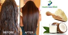 f you have dull, dry, rough and frizzy hair, follow this simple remedy to get silky, shiny and straight hair naturally at home.