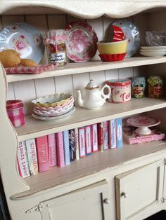 miniature shabby kitchen