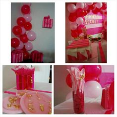 Victoria Secret theme party. Pink!