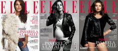 ELLE noviembre con tres portadas diferentes: Sara Carbonero que estrena blog en nuestra web, la actriz Paula Echevarría y la modelo Tara Lynn.