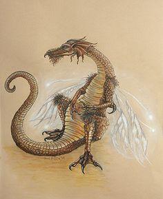 Fairy Dragon by Carol Phillips