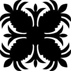 Hawaiian Quilt Tile 77 HawaiianQuilt78