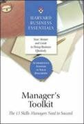 Manager's toolkit: The 13 skills managers need to succeed / Harvard Business Essentials.2004.