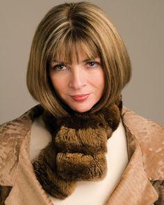 ◆◇素敵な女性に年齢など記号のようなものアメリカンヴォーグの編集長アナ・ウィンターは60歳 英国出身蠍…