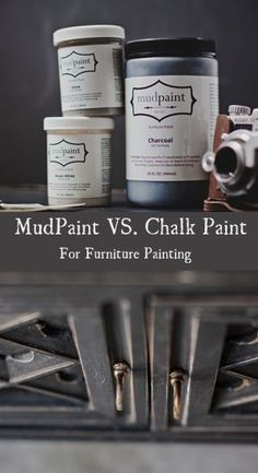 Mudpaint VS Chalk Paint for furniture painting