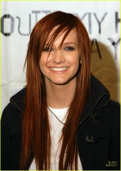 Hair color. For some reason I keep coming back to this color. I'm always too afraid to do it.