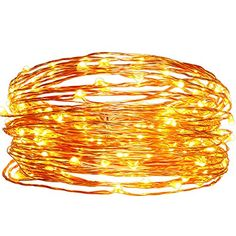 Solar Christmas String LightseasyDecor Copper Wire 100 LED 33ft Warm White Waterproof Decorative Starry Fairy Rope Light for ThanksgivingOutdoorIndoorPartyPatioGardenHolidayWeddingXmas Tree ** Be sure to check out this awesome product.