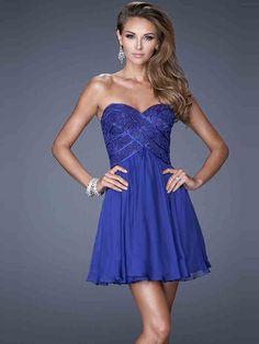 A-Line/Princess Sweetheart Sleeveless Lace Short/Mini Chiffon Dresses