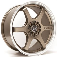 16×7 Enkei SR6 (Matte Bronze) Wheels/Rims 5×114.3 (473-670-6545ZP) Reviews $ 134.95 Car Wheels Product Features Enkei 473-670-6545ZP Car Wheels Product Description ENKEI custom wheels deliver the latest in wheel designs, composite alloy technology such as, casting/forged processes, rigid testing that must pass stringent JGTC Standards and unsurpassed manufacturing facilities. Find More Car Wheels Products http://www.carwheelshop.com/16x7-enkei-sr6-matte-bro..