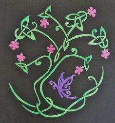 lovely! Celtic Knot Tree