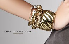 nothing could be finer....Yurman on the right wrist sitting on the hip!  love it.