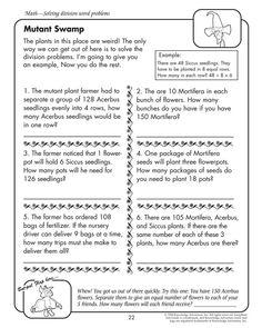 Silly Word Problems  Silly Words Word Problems And Worksheets