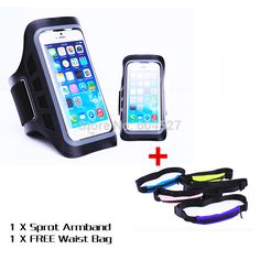 wholesale 2015 New For iPhone 6 4.7 Sport Armband case with Free Outdoor Sports Waist Bag Running Jogging Pocket Mobile Phone Bag Scalable|174df6e7-0d45-4a2a-9f62-5f3bd3d5d5a8|Armbands
