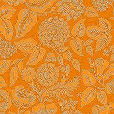 Rococo Flowers 1a fabric by muhlenkott on Spoonflower - custom fabric