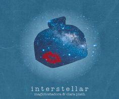 """Versión estrellada de la portada del disco de Magictostadora para su single y colaboración con Clara Plath """"Interstellar"""""""