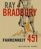 Book title and author do not match color. Bradbury is emphasized the most in this cover.