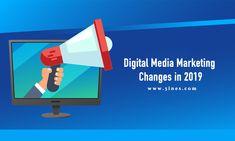 Looking ahead to Digital Media Marketing Changes in 2019 Digital Marketing Trends, Digital Marketing Strategy, Social Media Marketing, Linkedin Help, Web Development Company, How To Gain Confidence, Blockchain Technology, Social Media Site, Influencer Marketing
