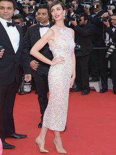 Paz Vega in Elie Saab Haute Couture - Cannes 2014