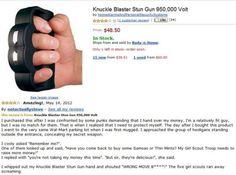 Hahaha!  Great review!