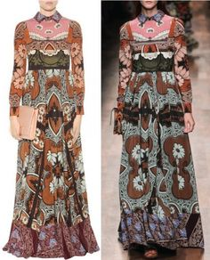 VALENTINO-Printed-silk-dress11.jpg 480×595 pixels