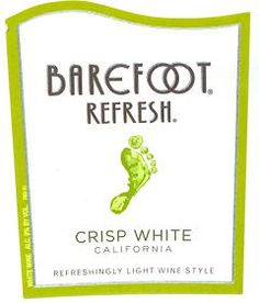 The Winey Mom: Winey Tasting Notes: Getting Refreshed While Barefoot