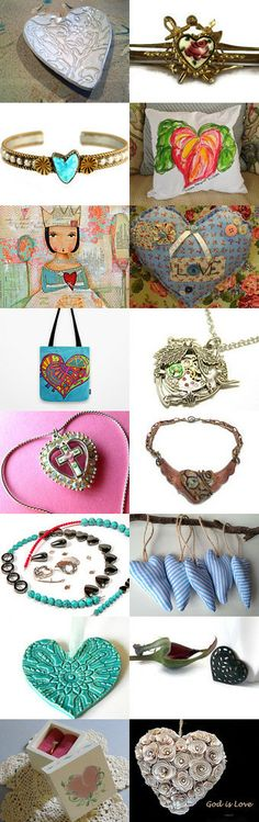 ❤❤❤ Artful, Heartful, Dodger ❤❤❤  by Linda on Etsy--Pinned with TreasuryPin.com
