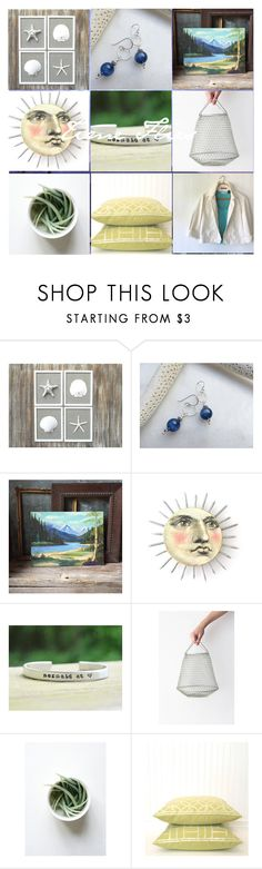 """""""time flies"""" by ohziedesigns ❤ liked on Polyvore featuring vintage"""