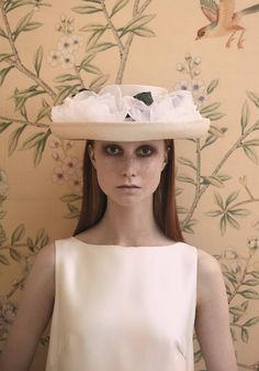 The Flower Show, Couture Hat by Prudence Millinery for Lock Couture SS2018 Collection