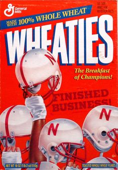 Yes indeed, finished business. Just one of many great years for the Nebraska Cornhuskers.