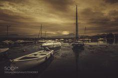 Yellow sky by AndreaFraccaroli. Please Like http://fb.me/go4photos and Follow @go4fotos Thank You. :-)