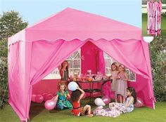 Make a statement in your garden this summer with this pink pop-up gazebo £104.99 from 24studio.co.uk | pink | Pinterest & Make a statement in your garden this summer with this pink pop-up ...