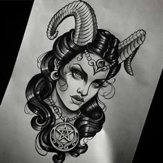Awesome 47 Cool Devil Tattoos Ideas For Men And Women. More at http://www.trendfashioner.com/2018/03/31/47-cool-devil-tattoos-ideas-for-men-and-women/