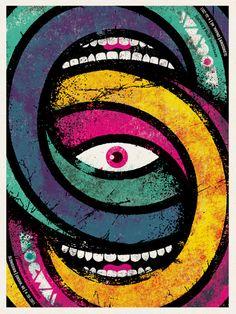 Mogwai poster by Doe Eyed